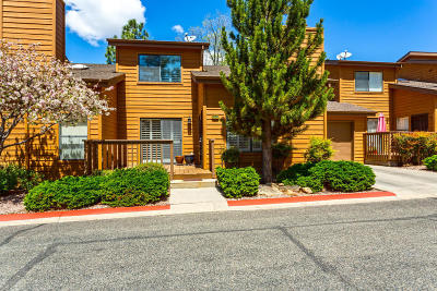 Chino Valley, Dewey-humboldt, Prescott, Prescott Valley Condo/Townhouse For Sale: 244 Creekside Circle #D