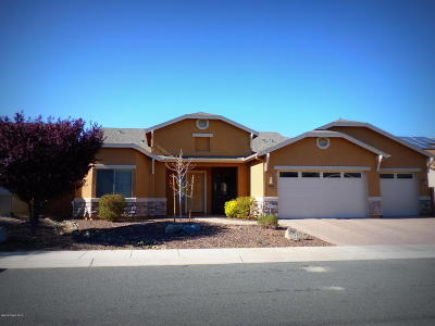 Prescott Valley Single Family Home For Sale: 6506 E Deacon Street