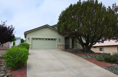 Prescott Single Family Home For Sale: 1730 Baltic Avenue