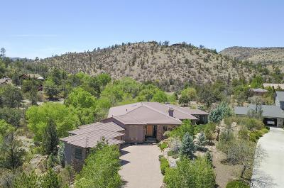 Prescott Single Family Home For Sale: 1493 Creek Trail