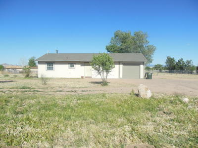 Chino Valley Single Family Home For Sale: 2725 N Apache Drive