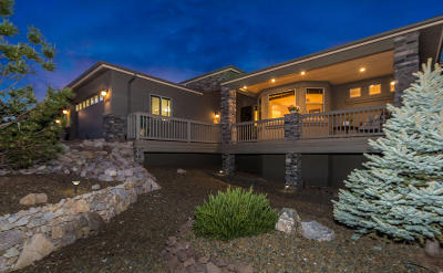 Prescott AZ Single Family Home For Sale: $583,500