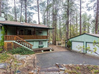 Prescott Single Family Home For Sale: 3384 S Pinehurst Drive