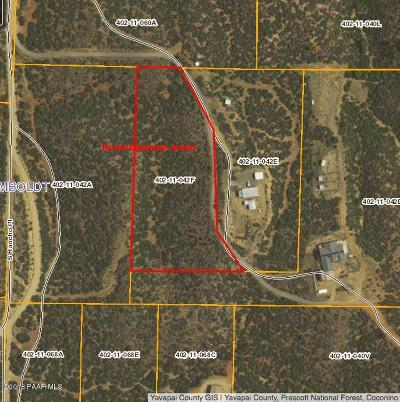 Dewey-humboldt Residential Lots & Land For Sale: 3261 Rancho Place