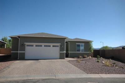 Dewey-humboldt Single Family Home For Sale: 12903 E Acosta Street