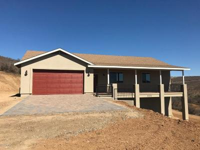 Chino Valley, Dewey-humboldt, Prescott, Prescott Valley Single Family Home For Sale: 2252 S Libery Pass