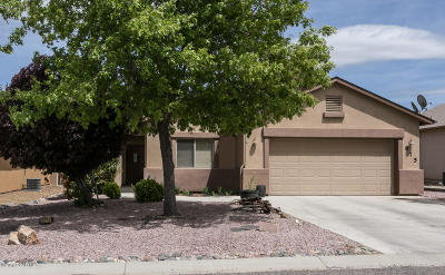 Chino Valley Single Family Home For Sale: 875 Saturn Drive