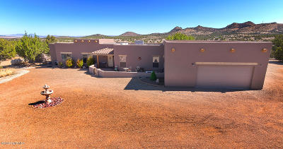 Prescott Single Family Home For Sale: 18300 N Crossroads Ranch Road