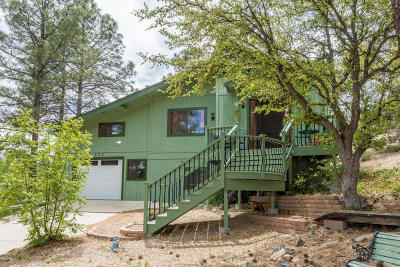 Prescott Single Family Home For Sale: 530 Woolsey Drive