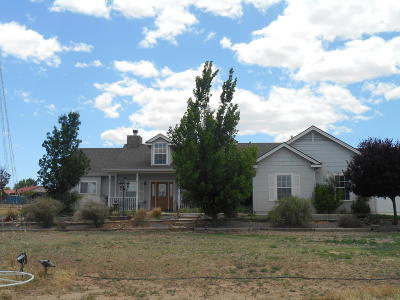 Paulden Single Family Home For Sale: 1975 W Rolling Hills Road