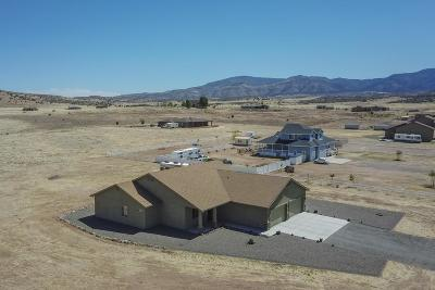 Prescott Valley Single Family Home For Sale: 10568 E Mummy View Drive