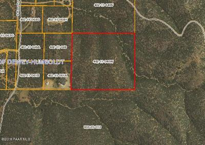 Prescott, Prescott Valley, Chino Valley, Dewey-humboldt Residential Lots & Land For Sale: 3353 Rancho Place