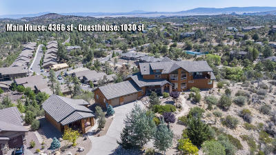 Prescott AZ Single Family Home For Sale: $1,287,000