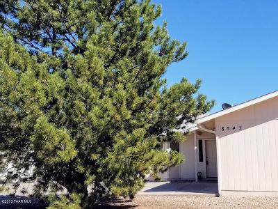 Prescott Valley AZ Single Family Home For Sale: $240,000