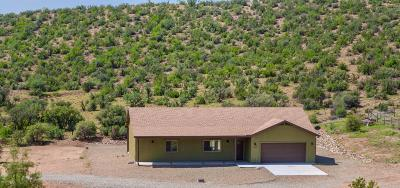 Dewey-humboldt Single Family Home For Sale: 12405 E Alpine Ridge Road