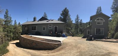 Prescott Single Family Home For Sale: 3004 Forest Service Road 73