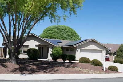 Viewpoint (Prescott Valley) Single Family Home For Sale: 7848 N Sunset Ridge Road