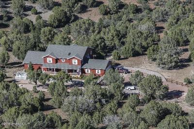 Prescott AZ Single Family Home For Sale: $899,900