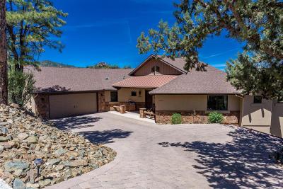 Prescott Single Family Home For Sale: 1340 E Valley View Road