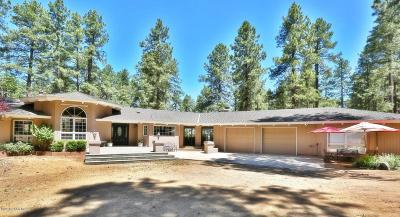 Prescott Single Family Home For Sale: 4722 S Senator Highway