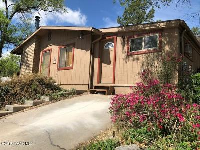 Prescott Single Family Home For Sale: 314 N Willow Street