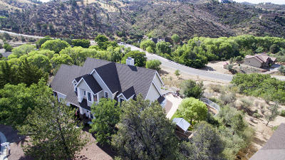 Prescott Single Family Home For Sale: 5213 E Canyon View Court