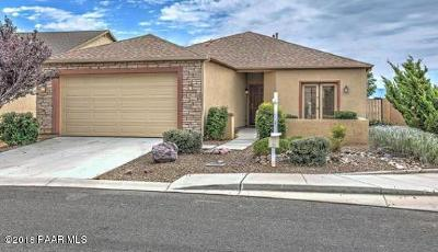 Viewpoint (Prescott Valley) Single Family Home For Sale: 8027 N Racehorse Road