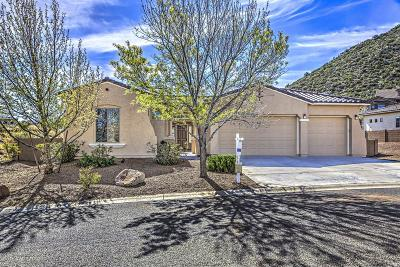 Prescott Valley Single Family Home For Sale: 7453 E Beaver Valley Road
