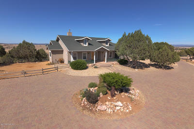 Prescott Single Family Home For Sale: 8001 W Desperado Lane