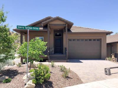 Prescott Single Family Home For Sale: 1490 Sierry Springs Drive