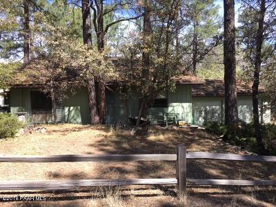 Prescott Single Family Home For Sale: 746 Cherokee Road