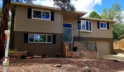 Prescott Single Family Home For Sale: 420 Canyon Springs Road