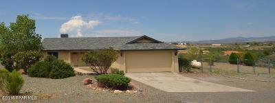 Mayer AZ Single Family Home For Sale: $164,900