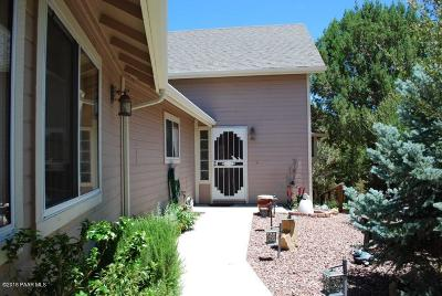 Prescott AZ Single Family Home For Sale: $525,000
