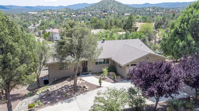 Prescott AZ Single Family Home For Sale: $489,000