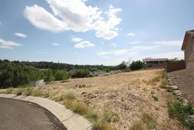 Prescott, Prescott Valley, Chino Valley, Dewey-humboldt Residential Lots & Land For Sale: 1928 Pinnacle Lane