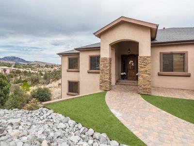 Prescott Single Family Home For Sale: 360 Trailwood Drive