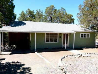 Prescott Single Family Home Pending - Take Backup: 825 Danita Street