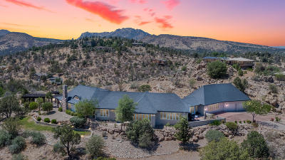 Prescott AZ Single Family Home For Sale: $1,150,000