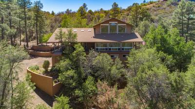 Prescott Single Family Home For Sale: 1880 W Manzanita Drive