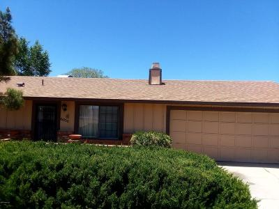 Prescott Valley Single Family Home Pending - Take Backup: 6050 E Copper Hill Drive