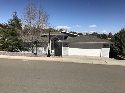 Prescott Single Family Home For Sale: 699 Sunrise Boulevard