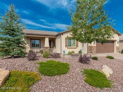 Prescott AZ Single Family Home Pending - Take Backup: $474,900
