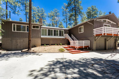 Prescott Single Family Home For Sale: 921 N Happy Valley Road