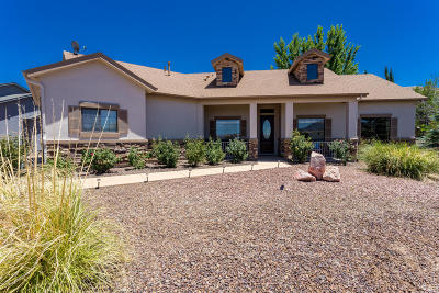 Prescott Lakes, Prescott Lakes - Estates Single Family Home For Sale: 849 Cameron Pass