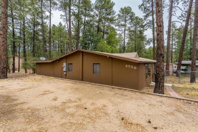 Prescott Single Family Home For Sale: 4559 S Deer Trail