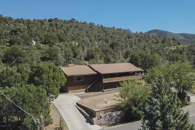 Prescott Single Family Home For Sale: 393 S Overland Road