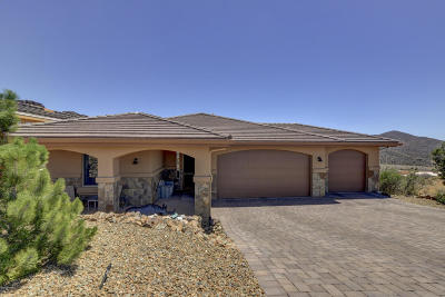 Prescott Single Family Home For Sale: 3165 Bar Circle A Road