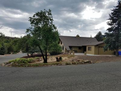 Prescott Single Family Home For Sale: 5075 Cactus Place