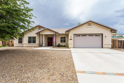 Prescott Valley Single Family Home For Sale: 4260 N Cypress Circle